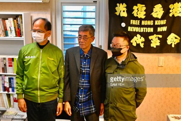 Lam Wingkee a bookseller from Hong Kong who in 2015 was detained in China for allegedly bringing banned books into the mainland stands with Taiwan...