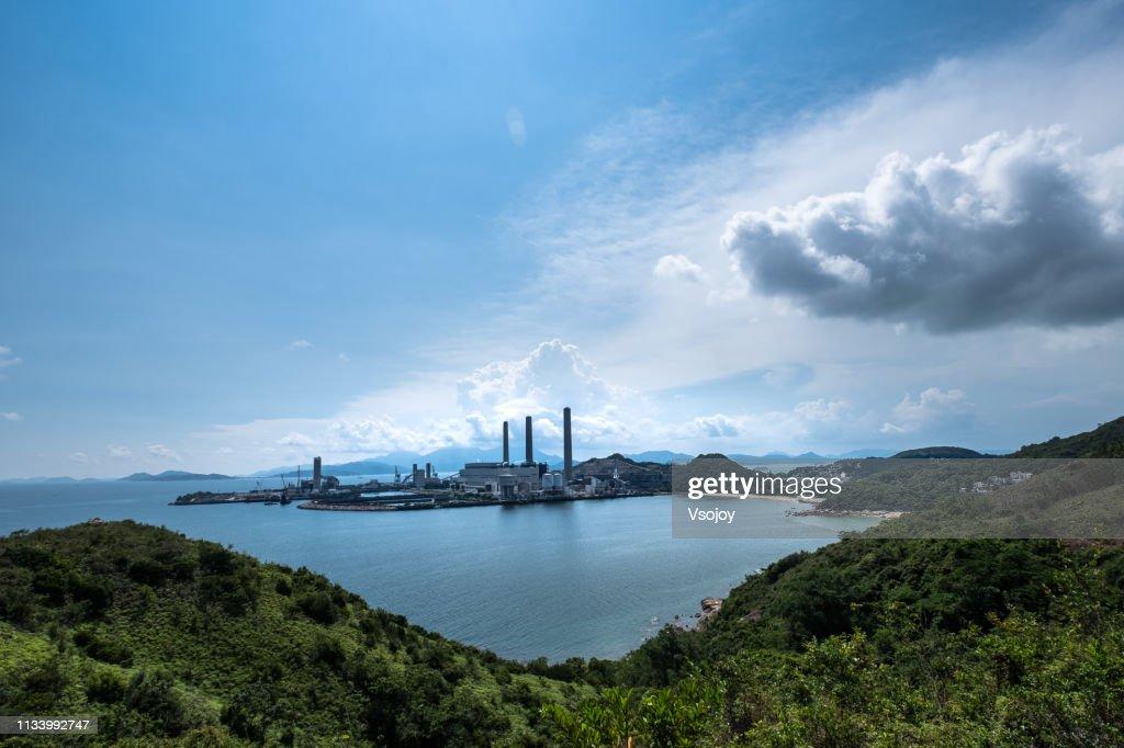 Lama Power Station, Lamma Island, Hong Kong : Stock Photo