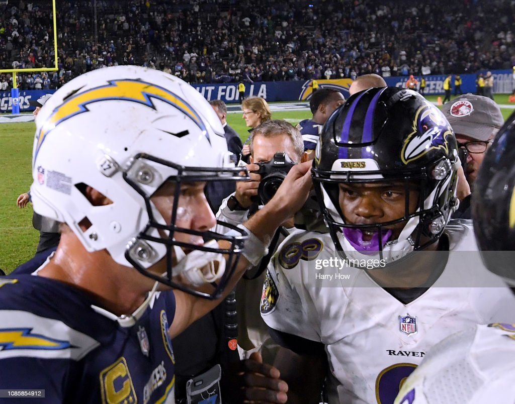 Baltimore Ravens v Los Angeles Chargers : News Photo