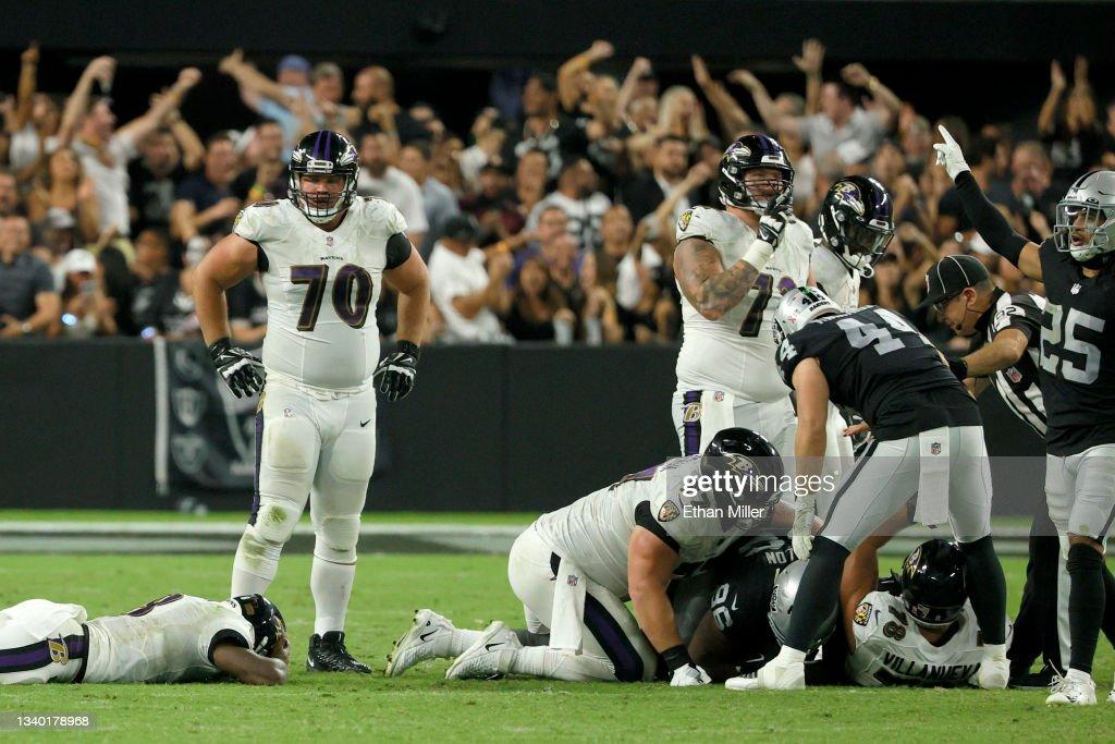 Baltimore Ravens v Las Vegas Raiders : ニュース写真