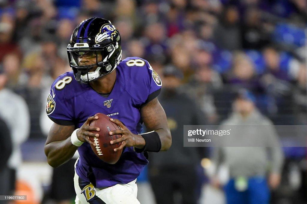Divisional Round - Tennessee Titans v Baltimore Ravens : News Photo