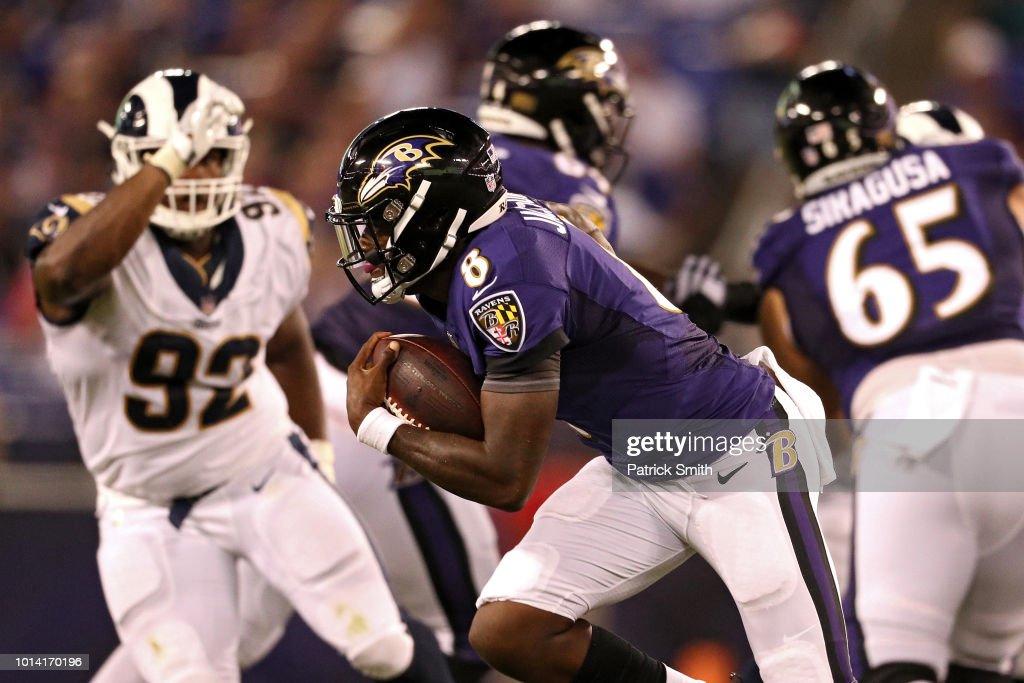 Los Angeles Rams v Baltimore Ravens : News Photo