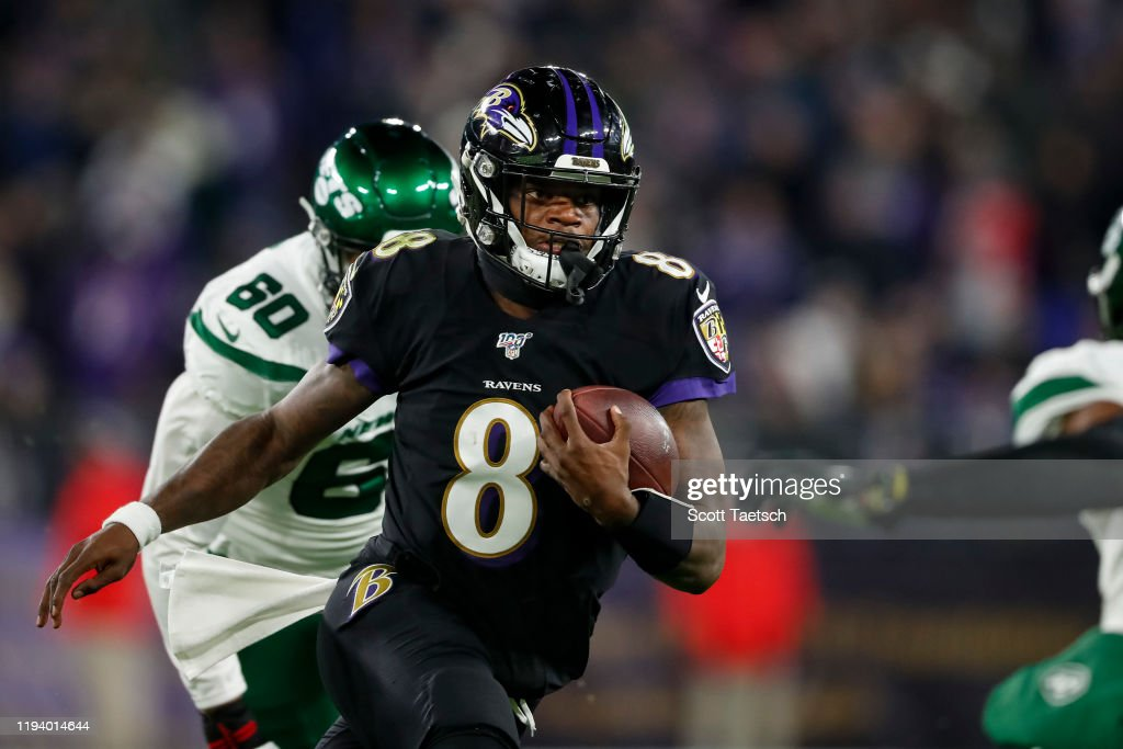 New York Jets vBaltimore Ravens : News Photo