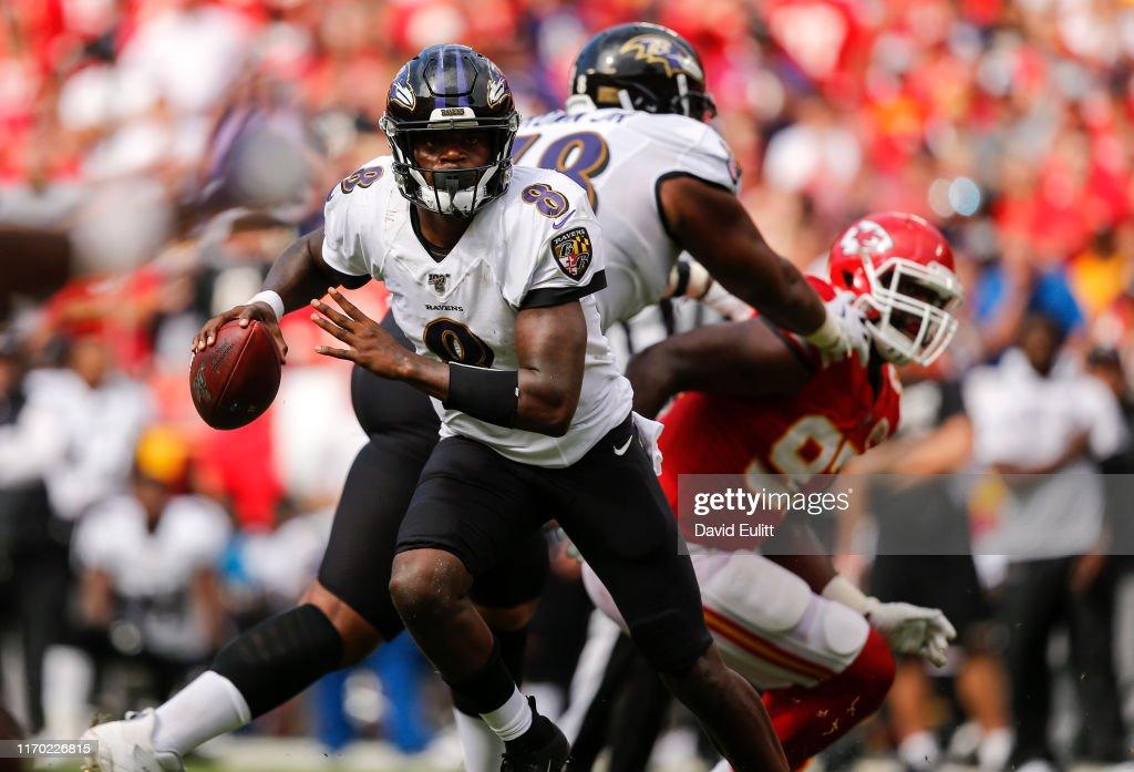 Baltimore Ravens vs Kansas City Chiefs : ニュース写真