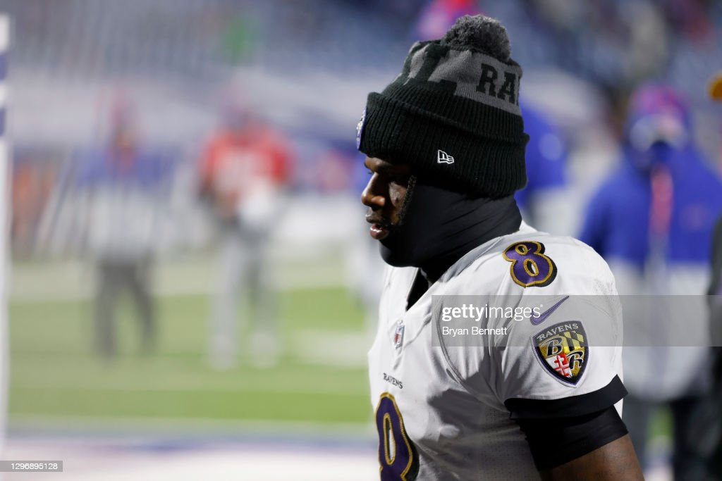 Divisional Round - Baltimore Ravens v Buffalo Bills : News Photo