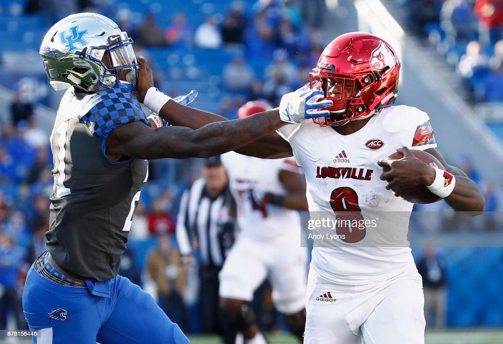 Louisville v Kentucky : News Photo