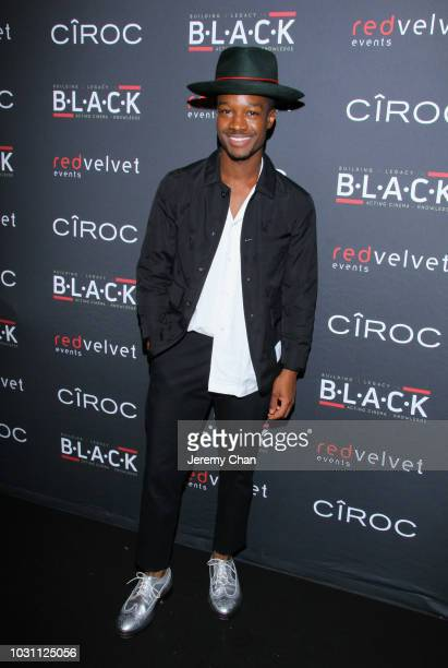 Lamar Johnson attends Stephan James And Shamier Anderson Host Third Annual BLACK Ball at TIFF Bell Lightbox on September 10 2018 in Toronto Canada