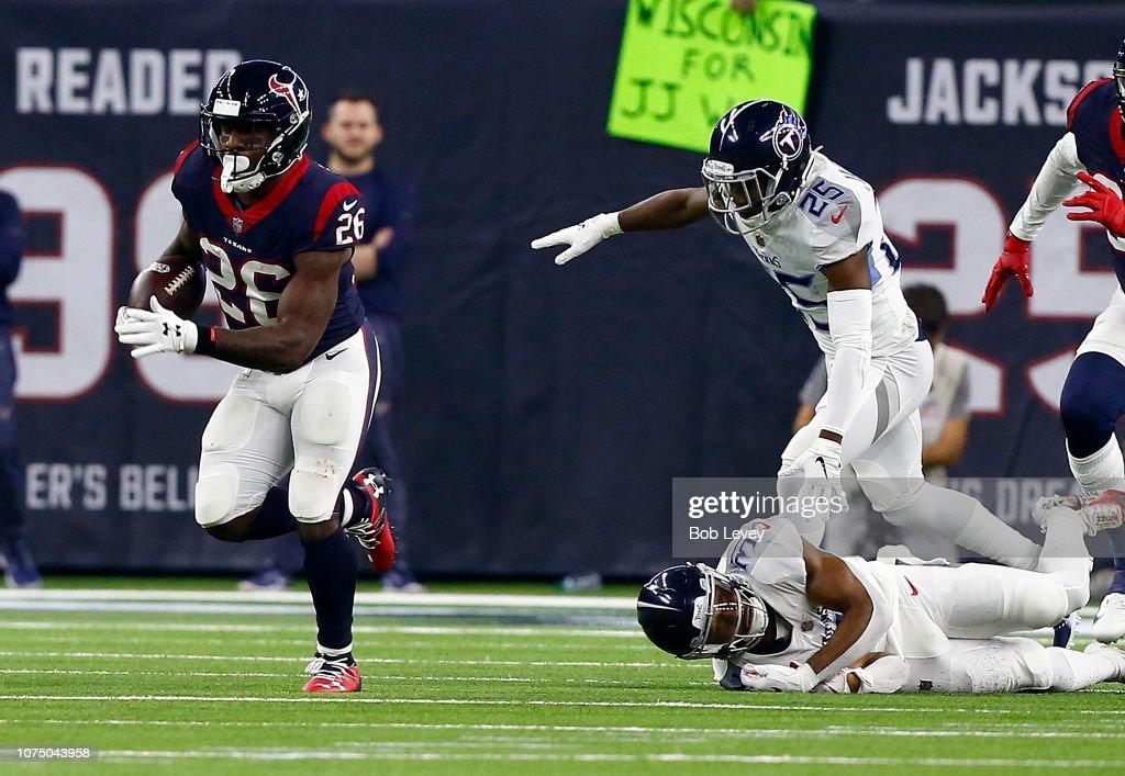 Tennessee Titans v Houston Texans : Fotografía de noticias