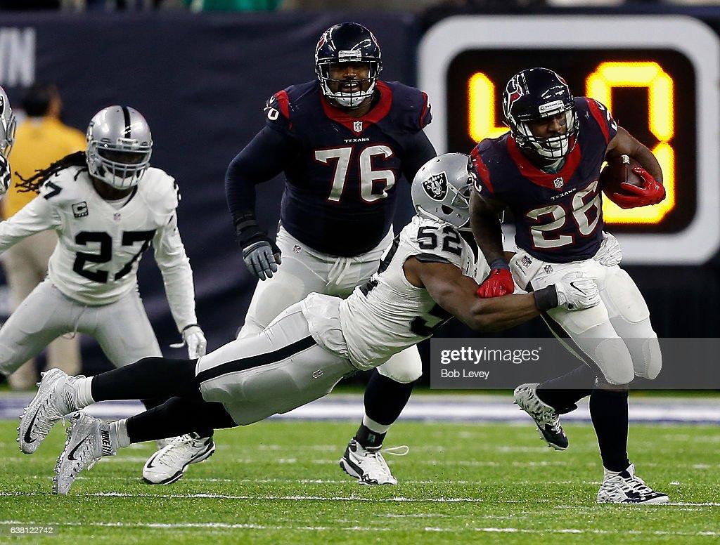 Oakland Raiders v Houston Texans : News Photo