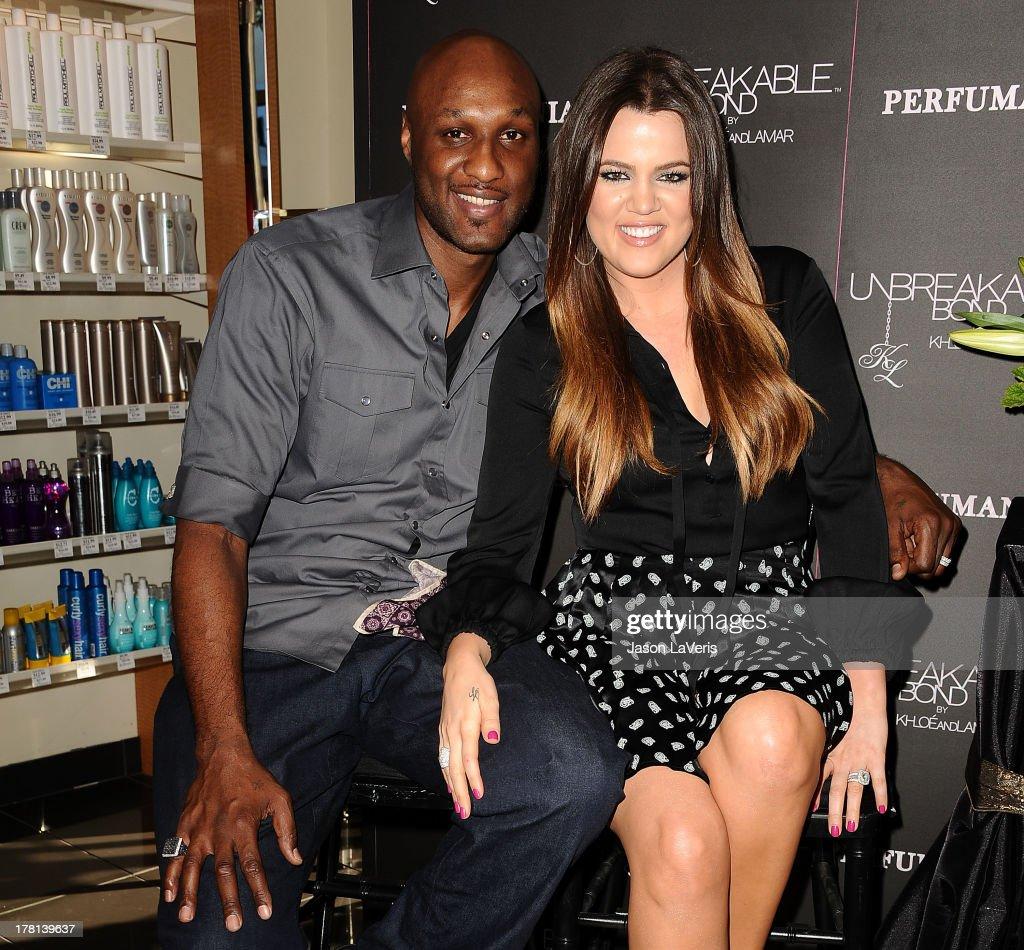 """Unbreakable Bond"" Personal Appearance With Khloe Kardashian Odom And Lamar Odom : News Photo"