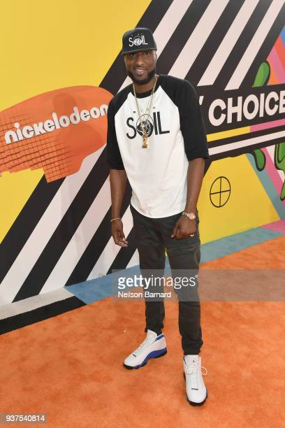 Lamar Odom attends Nickelodeon's 2018 Kids' Choice Awards at The Forum on March 24 2018 in Inglewood California