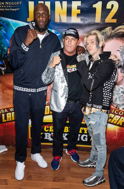 PA: Celebrity Boxing Face Off - Lamar Odom v Aaron Carter