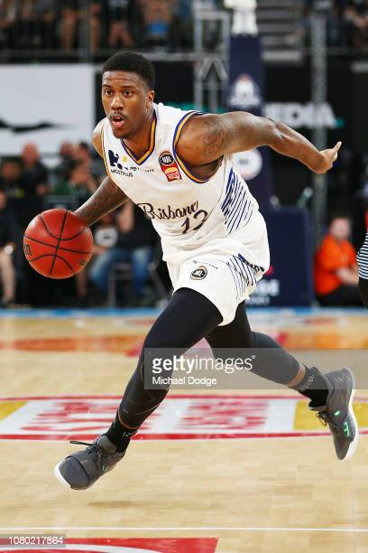 Lamar Patterson of the Bullets during the round eight NBL match between Melbourne United and the Brisbane Bullets at Hisense Arena on December 10...