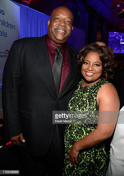 Lamar Sally and Sherri Shepard attend the Samsung's Annual Hope for Children Gala at CiprianiÕs in Wall Street on June 11 2013 in New York City