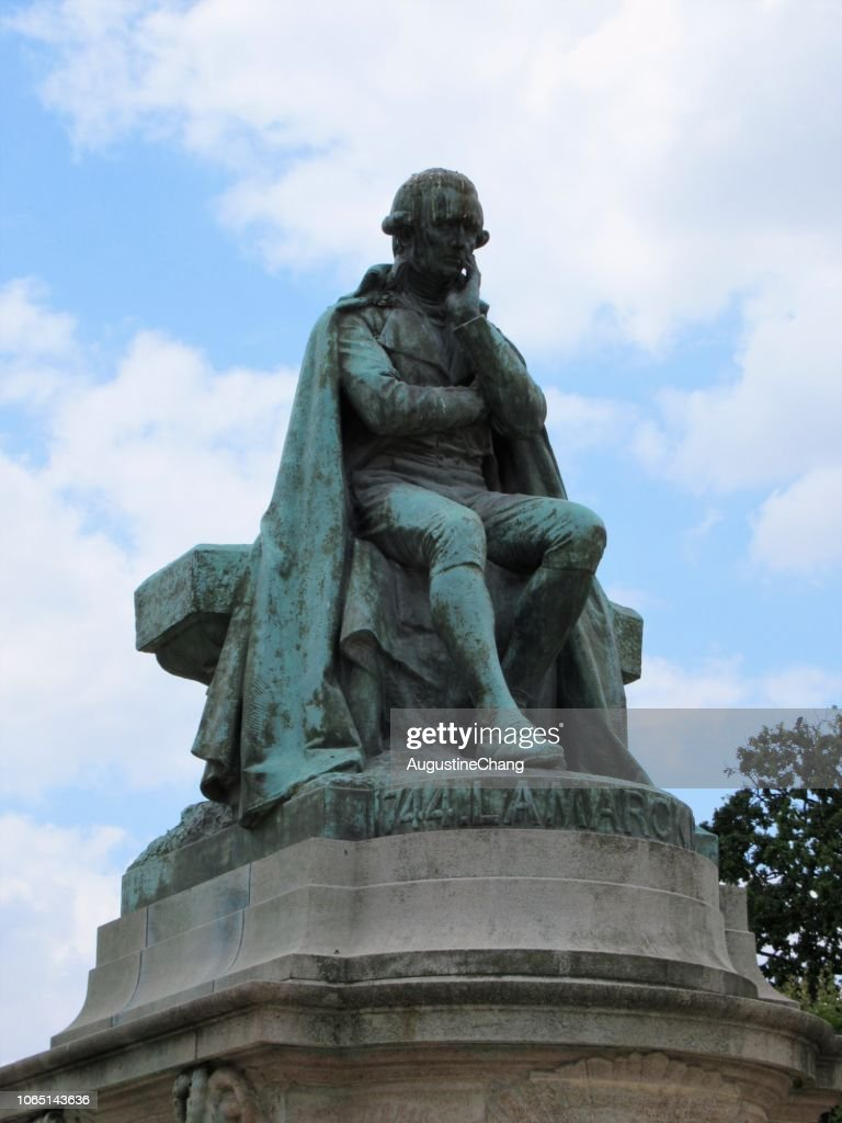 Lamarck Monument : Stock Photo