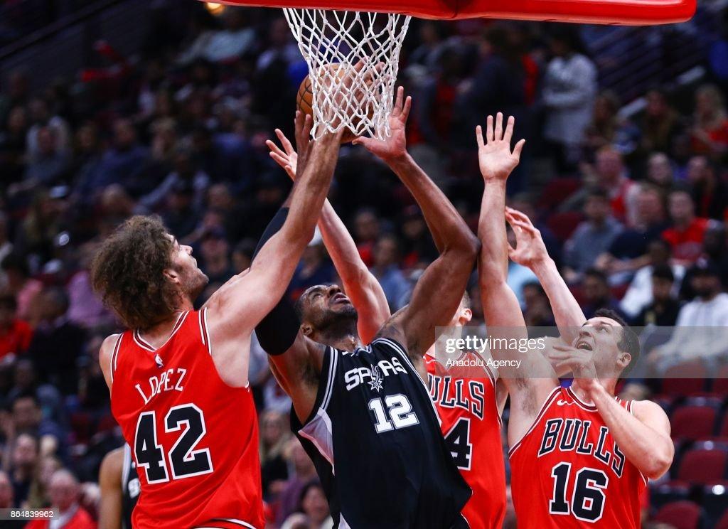 Chicago Bulls v San Antonio Spurs - NBA : News Photo