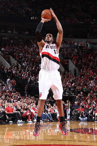 LaMarcus Aldridge Of The Portland Trail Blazers Vs. Rockets. May '14. Wall Art