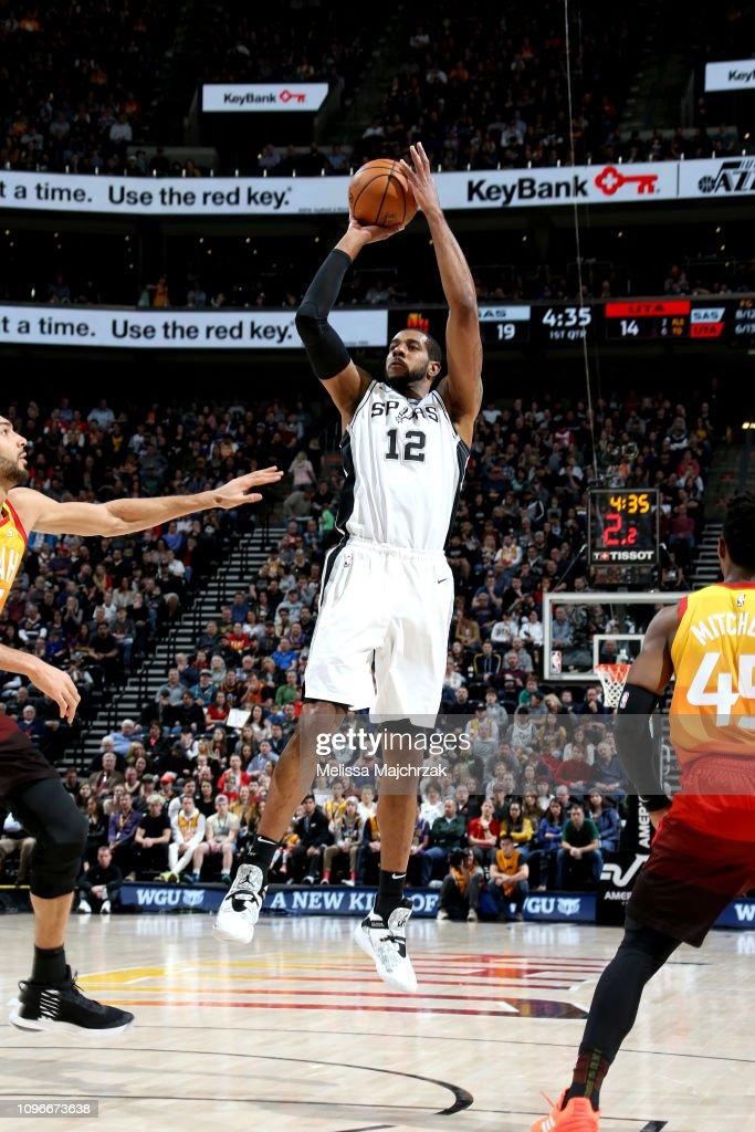 San Antonio Spurs v Utah Jazz : News Photo