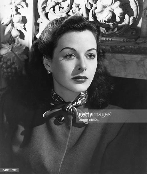 Lamarr Hedy Actress Austria * Portrait undated Published in 'BZ' Vintage property of ullstein bild