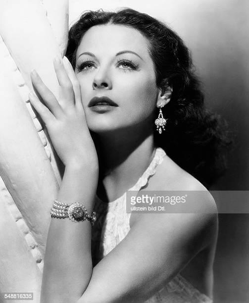 Lamarr Hedy Actress Austria * Portrait undated Published in 'Berliner Morgenpost' Vintage property of ullstein bild