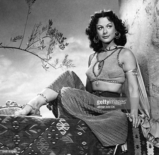 Lamarr Hedy Actress Austria * Scene from the movie 'Samson and Delilah' Directed by Cecil B DeMille USA 1949 Produced by Paramount Pictures Vintage...