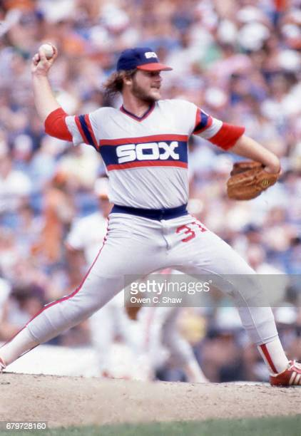 BALTIMORE MD LaMarr Hoyt of the Chicago White Sox circa 1983 pitches against the Baltimore Orioles at Memorial Stadium in Baltimore Maryland