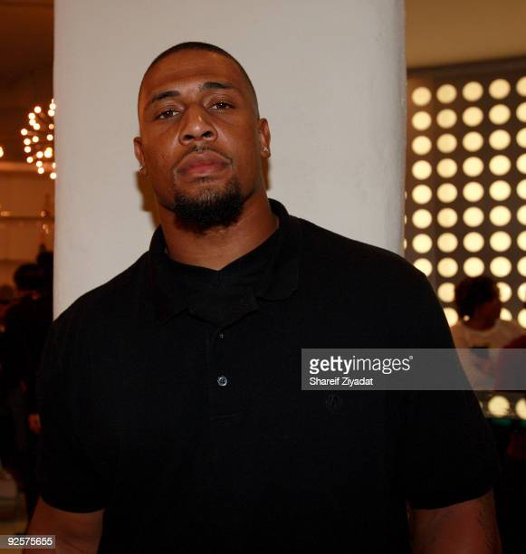 Lamarr Woodley attends a celebration at the Moet Hennessy USA building on October 30 2009 in New York City