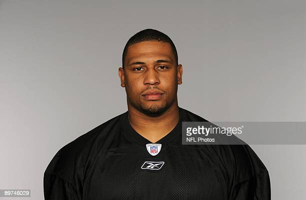 LaMarr Woodley of the Pittsburgh Steelers poses for his 2009 NFL headshot at photo day in Pittsburgh Pennsylvania