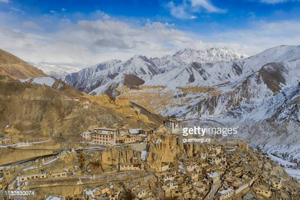 Lamayuru Gompa (monastery) in Ladakh, Jammu and Kashmir, India