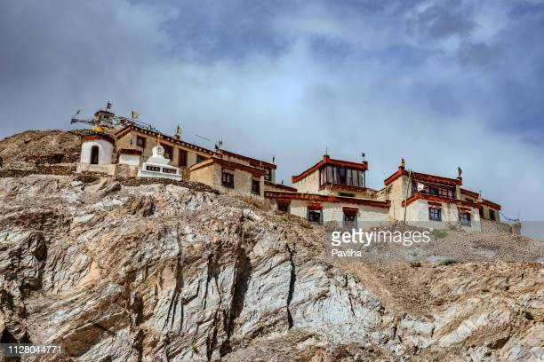 Lamayuru Gompa Ladakh, village housesJammu and Kashmir, Ladakh Region, Tibet,Northern India