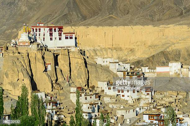 LADAKH LAMAYURU JAMMU KASHMIR INDIA Lamayuru Gompa surrounded by barren landscape is the oldest and largest existing monastery in Ladakh built on a...