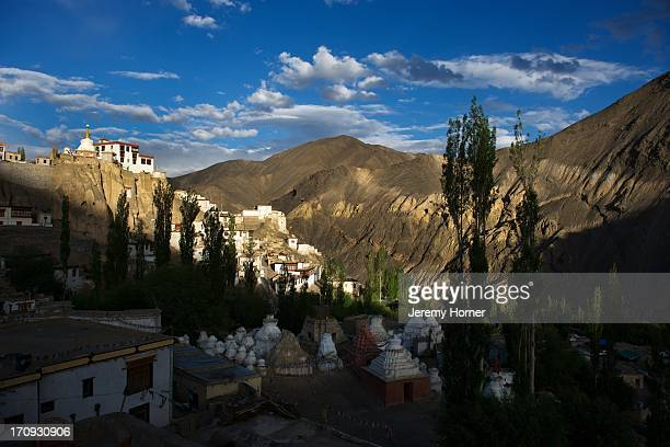 LADAKH INDIA LADAKH INDIA Lamayuru Gompa where the new monastery is built above the ruins of the old one along the SrinagarLeh highway