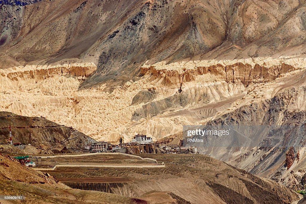 Monasterio de Lamayuru, Ladakh, Jammu y Cachemira, India : Foto de stock