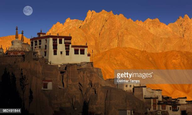 lamayuru monastery, ladakh - dietmar temps stock pictures, royalty-free photos & images