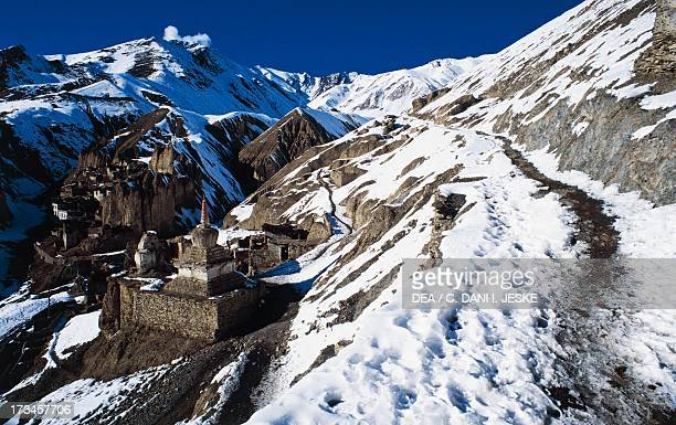 Lamayuru Monastery Tibetan Buddhist Gompa Himalayas Ladakh district Jammu and Kashmir State India