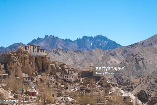 Lamayuru temple Monastery in Ladakh region, North India