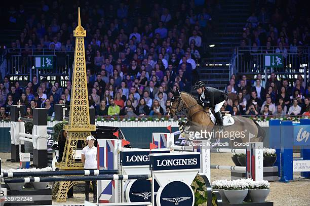 Lamaze Eric Fine Lady 5 durin the Longines Grand Prix CSI5* Paris 2015