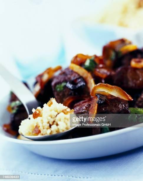Lamb and olive tajine