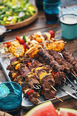 lamb beef vegetarian kebab