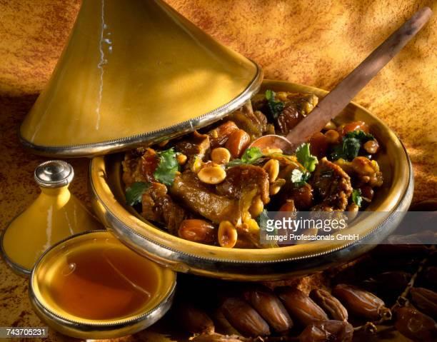 Lamb ,dried fruit and honey Tajine