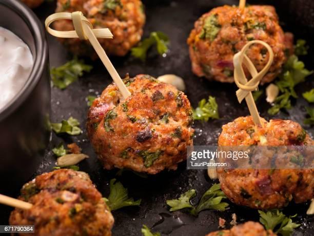 100% Lamb -Greek Meatball Platter