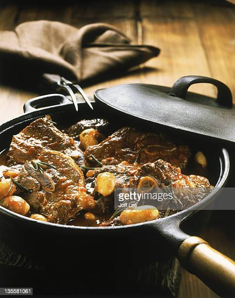 Lamb & haricot bean casserole