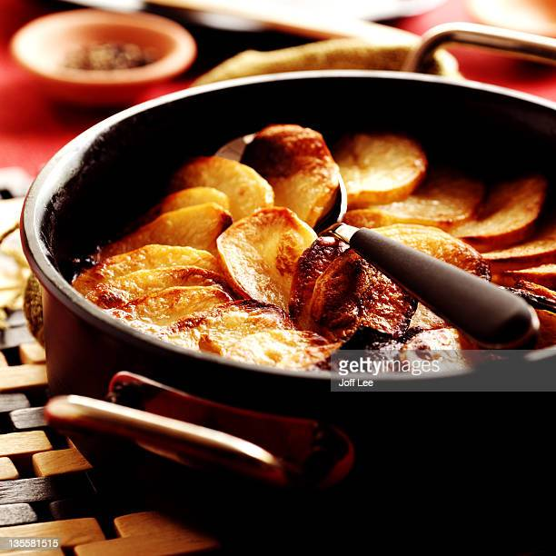 lamb hotpot - prepared potato stock pictures, royalty-free photos & images