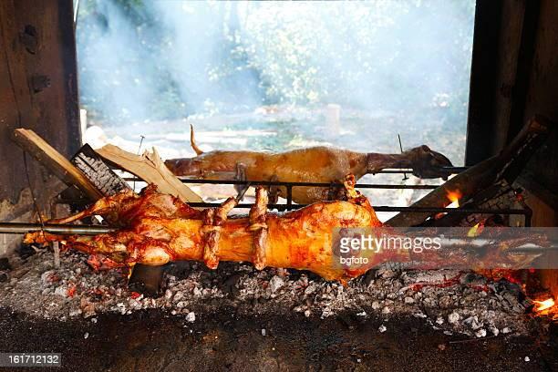 Lamb Roasting