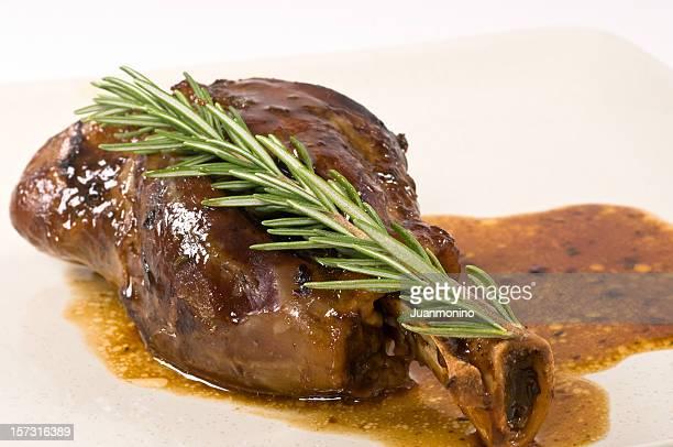 lamb shank - leg of lamb stock pictures, royalty-free photos & images