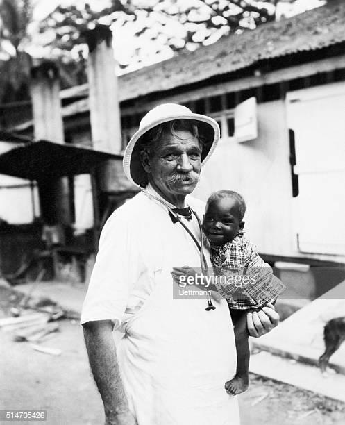 9/5/1956 Lambarene Gabon Schweitzer dead Dr Albert Schweitzer Nobel Peace Prize winner died here late September 4 He was 90 The famed humanitarian is...