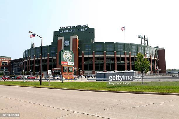 Lambeau Field home of the Green Bay Packers football team on August 31 2015 in Green Bay Wisconsin