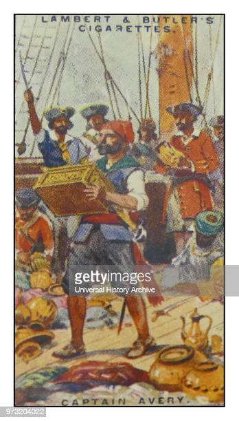 Lambert & Butler. Pirates & Highwaymen. Cigarette card showing: Henry Avery. Also Evory or Every. . sometimes erroneously given as John Avery. An...