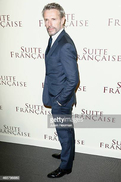 Lambert Wilson attends 'Suite Francaise' Premiere at Cinema UGC Normandie on March 10 2015 in Paris France