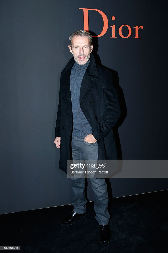 Lambert Wilson attends the Dior Homme Menswear Fall/Winter 2017-2018 show as part of Paris Fashion Week on January 21, 2017 in Paris, France.